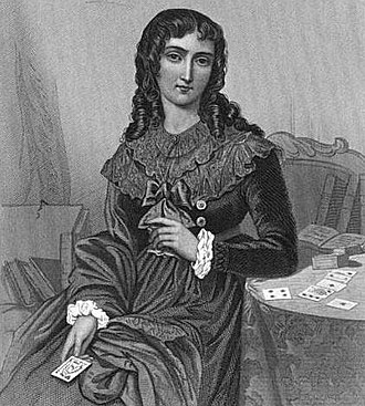 Marie Anne Lenormand - Image: Portrait of Mlle Lenormand from The Court of Napoleon