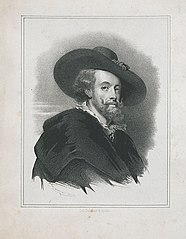 Portret van Peter Paul Rubens