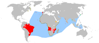 Kingdom of Portugal - An anachronous map of the Portuguese Empire.