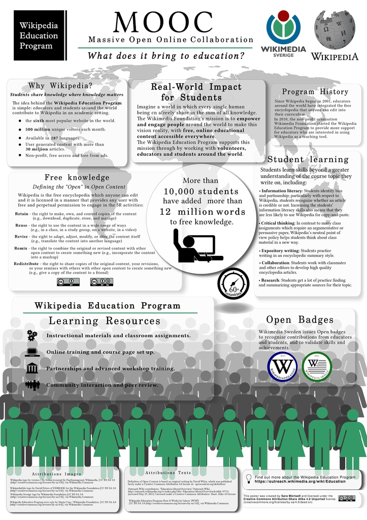 Fileposter Mooc Wikipedia In Educationpdf Wikimedia Commons