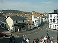 Pound Street at Cobb Gate, Lyme Regis - geograph.org.uk - 231659.jpg
