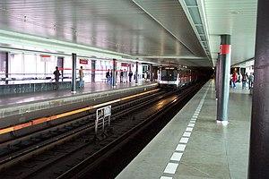 Vyšehrad (Prague Metro) - Image: Praha, Vyšehrad, Stanice metra
