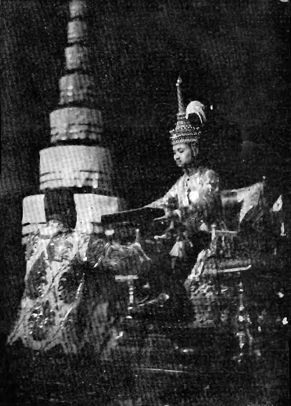 Prajadhipok%27s coronation records - 001