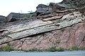 Precambrian-Cambrian nonconformity.JPG