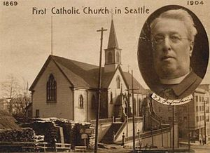 Francis X. Prefontaine - Image: Prefontaineandchurch