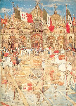 Prendergast Maurice Splash of Sunshine and Rain 1899.jpg