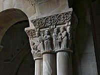 Presentación del Niño en el templo (Claustro de San Pedro el Viejo, Huesca).jpg