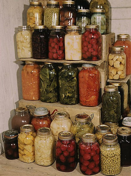 home canned food