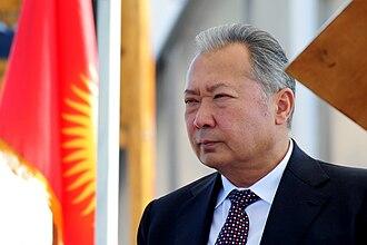 2010 South Kyrgyzstan ethnic clashes - Kurmanbek Bakiyev in 2009