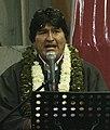 Presidentes ecuatoriano, Rafael Correa y boliviano, Evo Morales inauguran V Congreso Continental de la Coordinadora Latinoamericana de Organizaciones del Campo (5079425720).jpg
