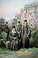 Preziosi - Călugări de la Mănăstirea Bistriţa.jpg
