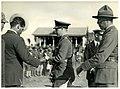 Prince of Wales with Māori serviceman, Rotorua, Royal Tour 1920.jpg