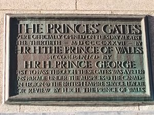 Princes' Gates