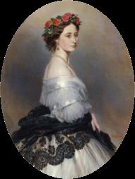Franz Xaver Winterhalter: Princess Alice (1843-78), later Grand Duchess of Hesse