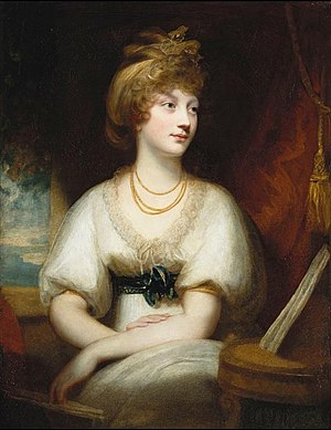 Princess Amelia of the United Kingdom - Portrait by Sir William Beechey