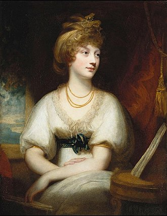Princess Amelia of the United Kingdom - Portrait by Sir William Beechey