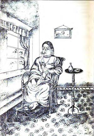 Ayilyam Thirunal - Princess Rukmini Bayi,the mother of H.H. Ayilyam Thirunal Rama Varma