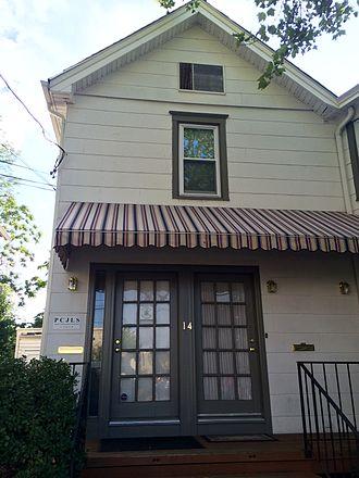 Hoshū jugyō kō - The offices of the Princeton Community Japanese Language School in Princeton, New Jersey