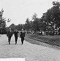 Prins Bernhard opende golfstromingslaboratorium te Wageningen, aankomst Prins Be, Bestanddeelnr 917-8659.jpg