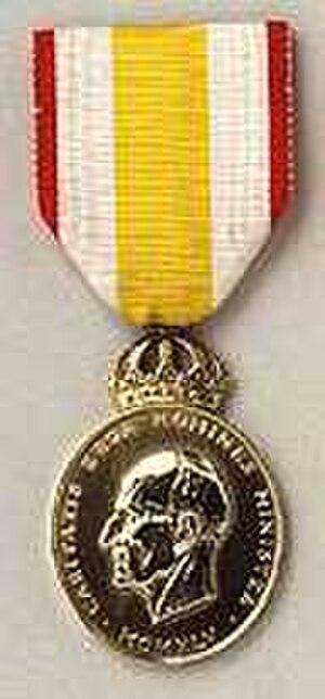 Prince Carl Medal - Image: Prins Carl medaljen