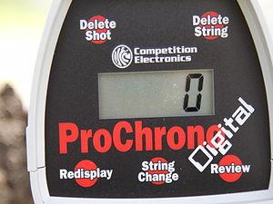 Gun chronograph - Image: Prochrono 2