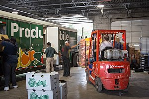 Greater Chicago Food Depository - The Producemobile started in 2001 as a way to distribute fresh produce to neighborhoods in need.