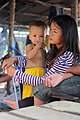 Provincia de Sihanoukville. Mother and son.jpg