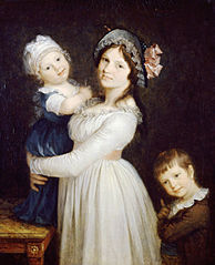 Madame Georges Anthony and Her Two Sons