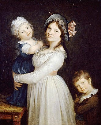 Madame Georges Anthony and Her Two Sons - Image: Prud hon Mme georges anthony HD