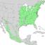 Prunus serotina range map 2.png