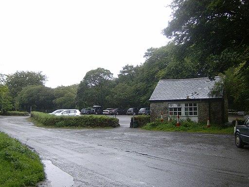 Public Car Park and toilets at Golitha Falls - geograph.org.uk - 2560070