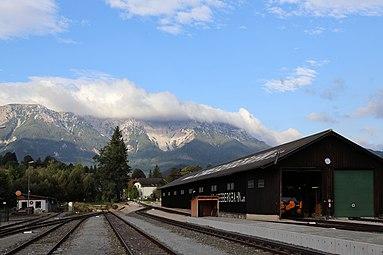 Puchberg am Schneeberg Bahnhof September 2014 c.jpg