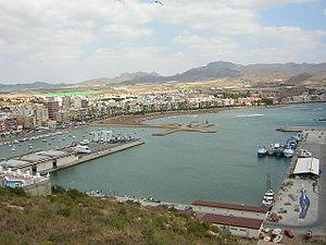 Mazarrón - Mazarrón port and beach