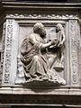 Pulpito del duomo di pietrasanta, evangelisti di bertoccio e filippo casoni (1504-08), matteo.JPG