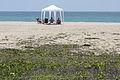 Punta carnero ecuador beach little hut to protect from the sun.jpg