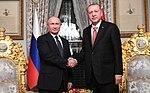 Putin and Erdoğan during handshake, Istanbul.jpg