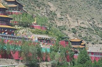 Qinghai - Image: Qinghai.fenghuangsha n