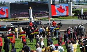 Queen's Plate - Queen Elizabeth attends the 2010 Queen's Plate