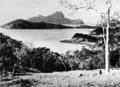 Queensland State Archives 1098 Whitsunday Passage showing Lion Island c 1931.png