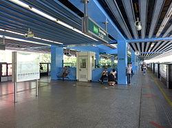 Queenstown MRT Station Platform 201401.jpg