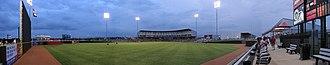 AirHogs Stadium - Image: Quiktrip panorama