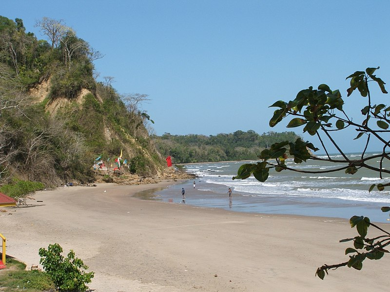 File:Quinam bay, Columbus Channel, South Coast, Trinidad & Tobago.jpg