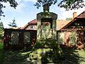 Rütenbrock Gefallenendenkmal der beiden Weltkriege auf dem Friedhof St. Maximilian.jpg