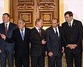 RIAN archive 118758 I.Aliev, M.Shaimiev, V.Putin, R.Kocharyan, M.Saakashvil.jpg