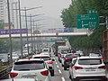 ROK Natl Route 1 Seobu Arterial Highway Geumcheongyo IC 150m Ahead(Geumcheon IC Dir).jpg