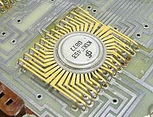 Ранняя советская микросхема К1ЖГ453.