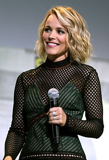 Rachel McAdams - the beautiful, desirable, charming,  actress  with Irish, Scottish, English, Dutch, Welsh,  roots in 2019