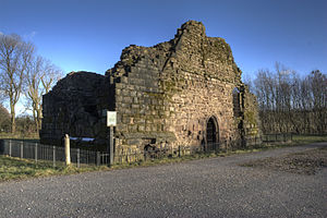 Radcliffe Tower - The standing remains of Radcliffe Tower