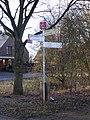 Radrevier.ruhr Knotenpunkt 19 Schermbeck Landwehr Wegweiser.jpg