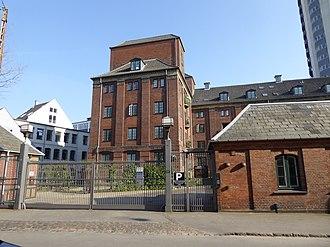 Rahbeks Allé - Rahbels Allé Brewery's former buildings